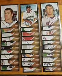 2011 Topps Heritage Black Border you Pick Fill your set choice 3.33 ship