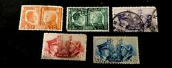 ITALY 1941 Axis Rome-Berlin MNH & used set, high value $9.99