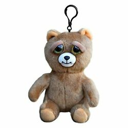 Feisty Pets Mini Growls A Lot The Bear 5 Inch Plush Figure NEW IN STOCK $11.99
