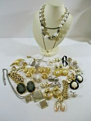 A Lot of Name Brand Designer  Costume wear Jewelry.