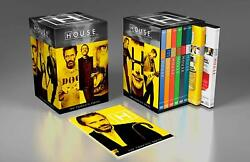 HOUSE MD The Complete Series Seasons 1-8 New 41-Discs House M.D. DVD Box Set