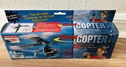 Rhino Copter Toy Air Flying Sky Helicopter Fly Back Capability No Batteries 8 $9.99