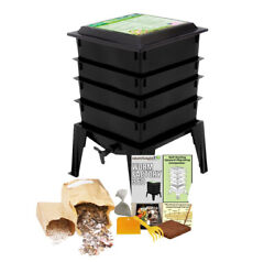 The Worm Factory® 360 Vermiculture Worm Composting Bin by Nature#x27;s Footprint $118.95