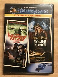 The Haunted PalaceThe Tower of London - Midnite  (DVD) Sealed SHIPS FAST
