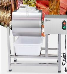 Stainless Steel Meat Salting Machine Meat Poultry Tumbler Machine 25L co $1600.90