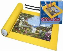 NIB Ravensburger Puzzle Stow & Go Roll up mat for Jigsaw Puzzle 17960 Mat 46X26