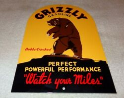 VINTAGE GRIZZLY GASOLINE + BEAR 12