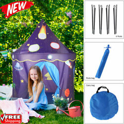 Folding Portable Castle Play Game House Large IndoorOutdoor Play Tent for Kids