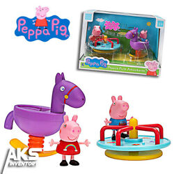 Peppa Pig Park Adventures Playtime Set Young Girls Gift New