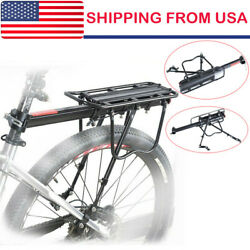 Bicycle Mountain Bike Rear Rack Seat Post Mount Pannier Luggage Carrier US 2019 $21.39