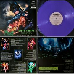 1-DAY ONLY ! *LTD EDITION *COLOR VINYL* SEAL others - Batman Forever (2018 RI)
