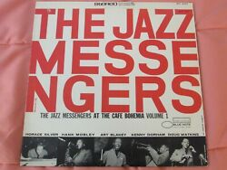 THE JAZZ MESSENGERS .. AT CAFE BOHEMIA VOL. I LP .. Blue Note .. VGVG+