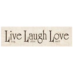 Live Laugh Love Wall Sign $14.50