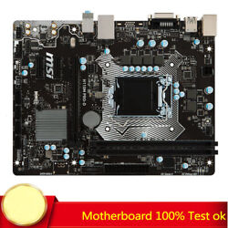 FOR MSI H110M PRO D 1151 DDR4 H110 Chipset M ATX Motherboard Tested G3900 7700K $104.50