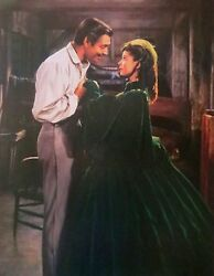 Gone With The Wind Canvas Print Rhett Butler & Scarlett O'Hara