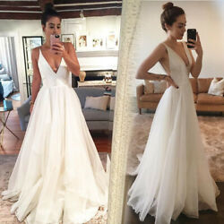 US Women Maxi Dress Formal Prom Party Cocktail Bridesmaid Wedding Ball Gown
