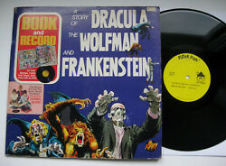 HALLOWEEN - A Story Of Dracula The Wolfman And Frankenstein Record Vinyl LP