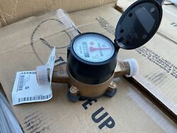 Neptune 5 8x3 4 Water Meter T 10 Trident NSF61 Direct Read Cubic Feet qty avail $59.99