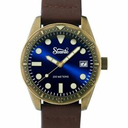 NEW Szanto Vintage Dive Antique Bronze Blue Brown AUTHORIZED DEALER $250.75