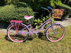 Lilly Pulitzer Pink Beach Cruiser