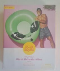 Sun Squad Inflatable Giant Galactic Alien Float NEW!!!