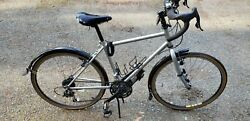 Rodriguez Road bike Adventure. Small frame silver. Very good condition.