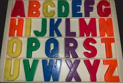 Vintage Fisher Price Magnet Alphabet School House Desk Replacement Letters 1119 $6.50