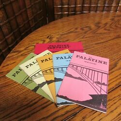 The Palatine Immigrant lot of 5 plus Palatine Pamphlet by Charles M Hall