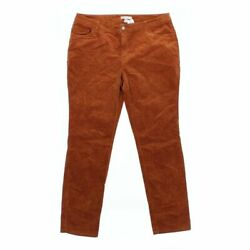 Cato Women's Casual Pants size 16  orange  cotton spandex