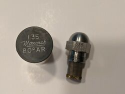 MONARCH OIL BURNER NOZZLE 1.35 80°AR STAINLESS STEEL $4.99