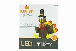 Inflatable turkey Yard Decoration Fall Thanksgiving Airblown