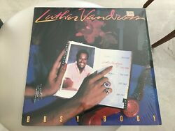 1983 LUTHER VANDROSS Busy Body LP Vinyl VG+ Cover  Epic FE 39196 Sterling EX