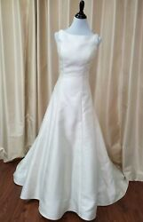 Voyage by Morilee Bridal 6858 Melody Wedding Dress A Line Satin Elegant Ivory