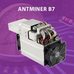 Bitmain Antminer B7 💎   Low Electricity Miner - 150 KH mod option
