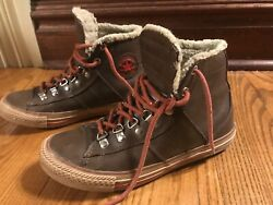 Brown Converse all star Youth Size 4 $21.00