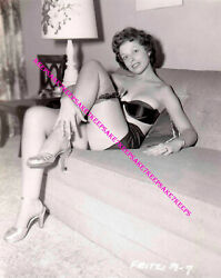 EXOTIC STRIPTEASE DANCER FRITZI LEGGY 8X10 PHOTO S-HB1 $7.00