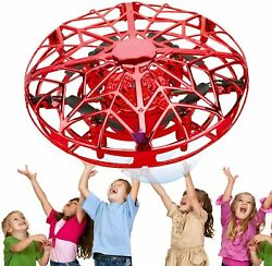 Mini Drone Quad Induction Levitation Hand Operated Helicopter UFO Toys For Kids $16.94