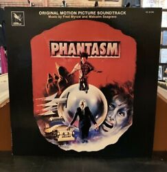 Phantasm Original Motion Picture Soundtrack Vinyl LP Fred Myrow Malcolm Seagrave