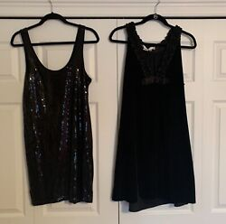 Black Holiday Dresses two items $15.00