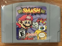 Super Smash Bros. Brothers 64 Mario N64 Nintendo 64 US SELLER Fast Shipping!