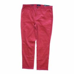Talbots Women's Casual Pants size 16  pink orange  cotton elastane