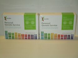 (2) 23andMe Personal Genetic Service Saliva Collection Kit - Exp Date: 092020+