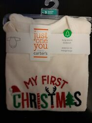 Carters MY FIRST CHRISTMAS long sleeve bodysuit NEW size 3 months $5.05