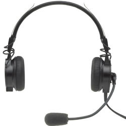 Telex Airman 850 ANR Lightweight Headset Requires No Battery or Panel Power $475.99