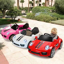 Kids Ride On Car Electric Car W MP3 LED Headlights Toy Gift Remote Control RC $117.99