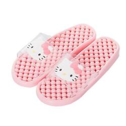 Cute For Hello Kitty Summer Bathroom Home PVC Slippers Shoes US size 6 8 PINK $11.98
