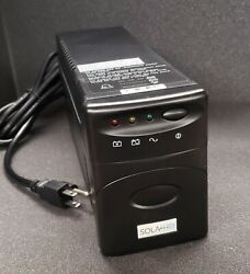 SOLAHD S1K850 Uninterruptible Power Supply 4 Outlets tested working $79.99