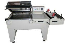 Automatic Sealing Cutting Shrink two-in-one Thermal Shrink Machine 110V POF PVC