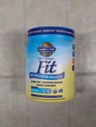 Garden of Life Raw Organic Fit High Protein Vanill16.1 oz #7418 Exp 07 21 $22.00