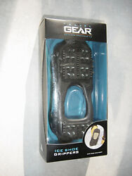 ICE SHOE GRIPPERS ONE SIZE FITS MOST by TRAVEL GEAR BLACK #41TG3302 $15.95